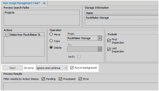 Automatic Image Management