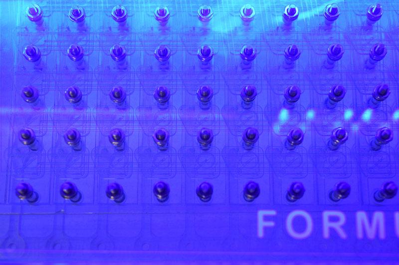 FORMULATOR dispensing chip