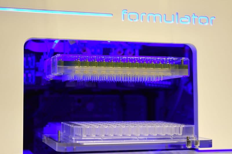 formulator screen builder plate tray