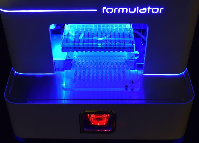 formulator screen builder lights