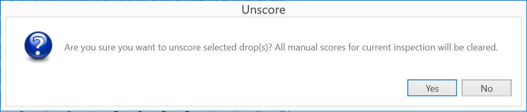 clearing multiple scores