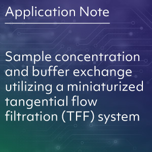 Sample Concentration and Buffer Exchange Utilizing